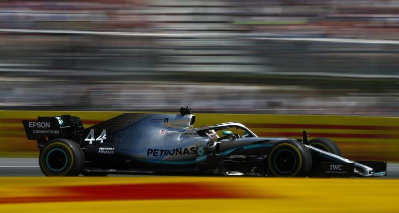 GP de France de F1 : la sortie de piste d'Hamilton en vidéo