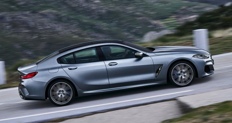 BMW Série 8 Gran Coupé : quatre portes en trois points