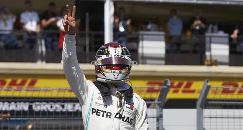 GP de France de F1 : victoire de Hamilton, le classement complet