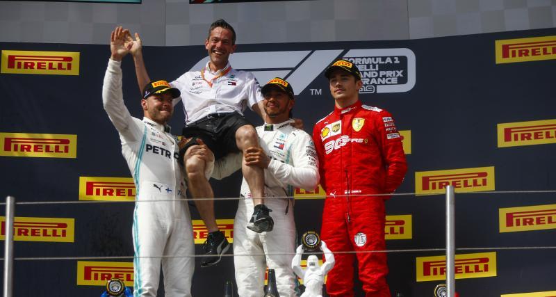 Grand Prix de France de Formule 1 : le podium en vidéo