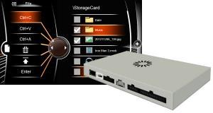 Dynavin commercialise une interface multimédia pour completer l'autoradio d'origine des BMW E60