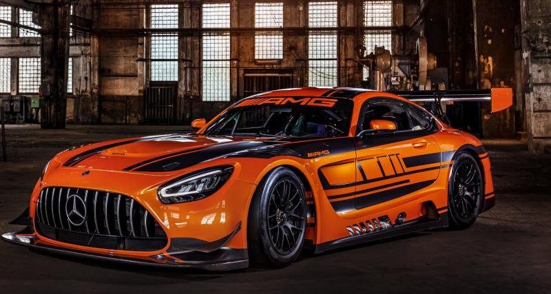 Nouvelle Mercedes AMG-GT3 : l'essence même du sport auto