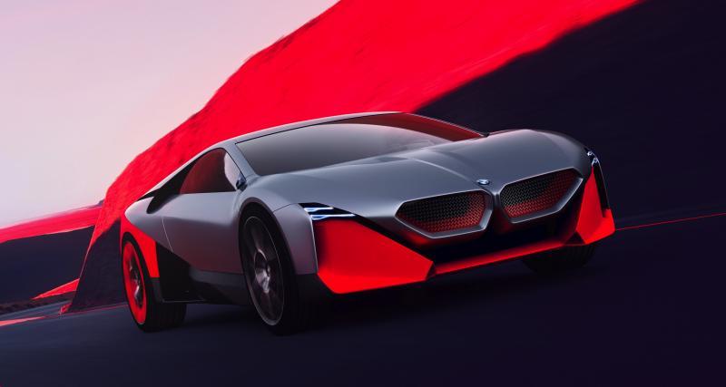 BMW Vision M Next : l'hybride sportive de 600 chevaux