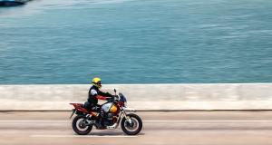 Un motard flashé à 206 km/h au guidon sur une départementale