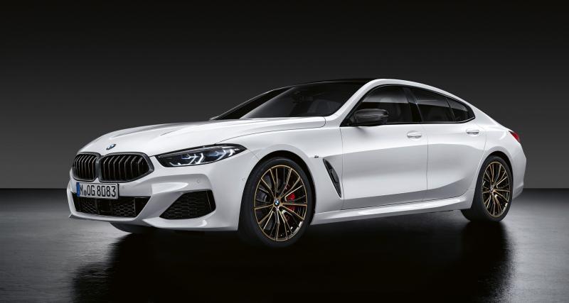BMW Série 8 Gran Coupé, Série 3 Touring et X1 : les pièces M Performance annoncées