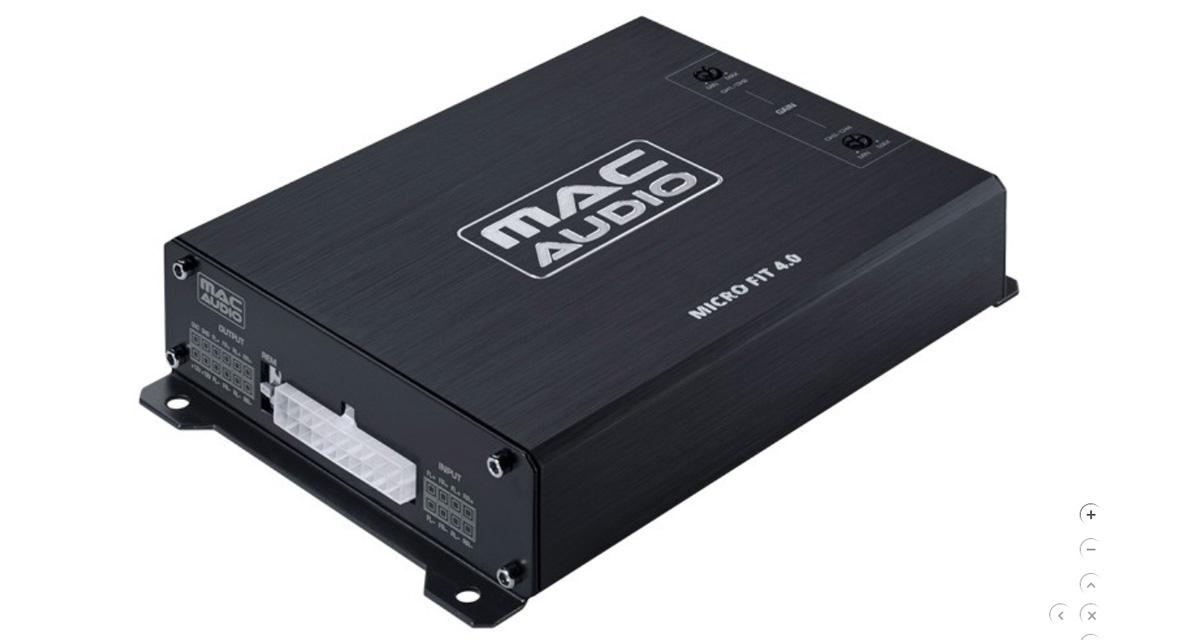 "Mac Audio commercialise un micro ampli 4 canaux ""plug and play"""