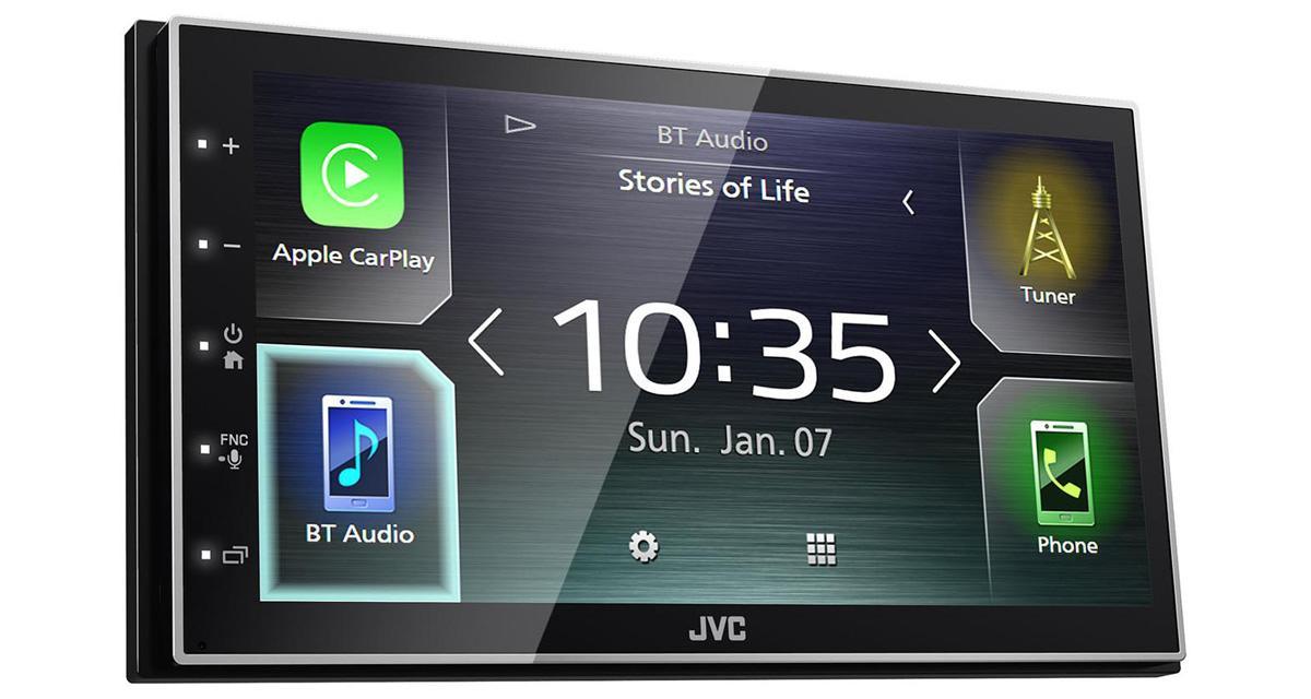 JVC présente un autoradio CarPlay et Android Auto à prix attractif