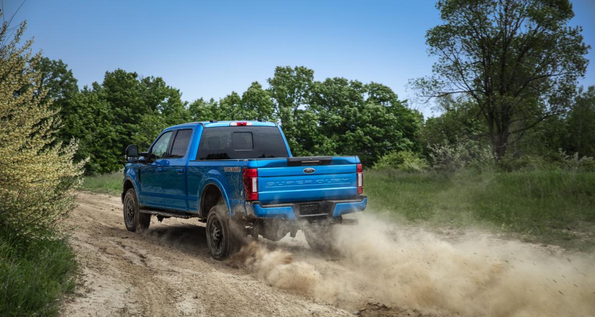 Nouveaux Ford série F Super Duty : les photos des rivaux des Silverado et RAM Heavy Duty