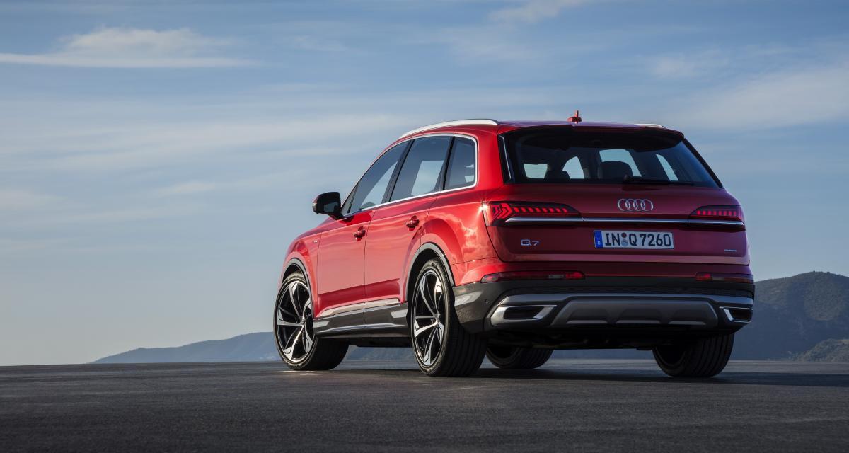Audi Q7 restylé : le SUV premium en 4 points