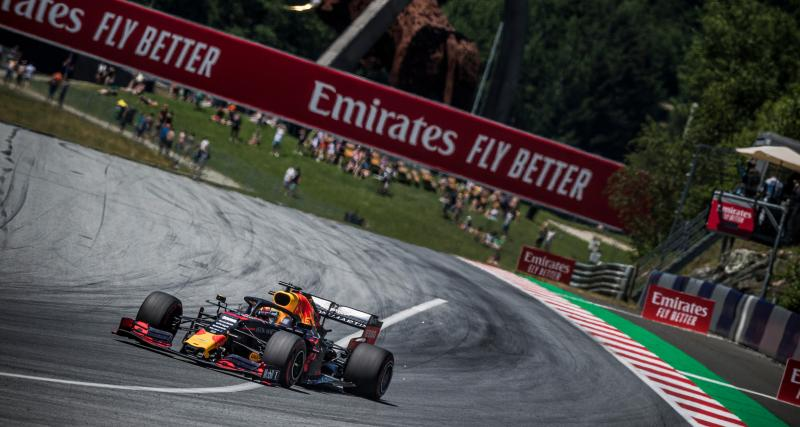 Grand Prix d'Autriche de F1 : le crash de Max Verstappen en vidéo