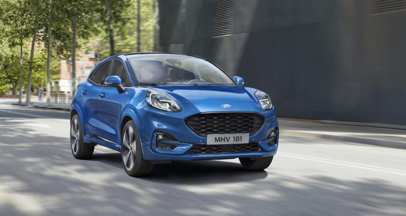 Ford Puma : le retour du félin américain en quatre points