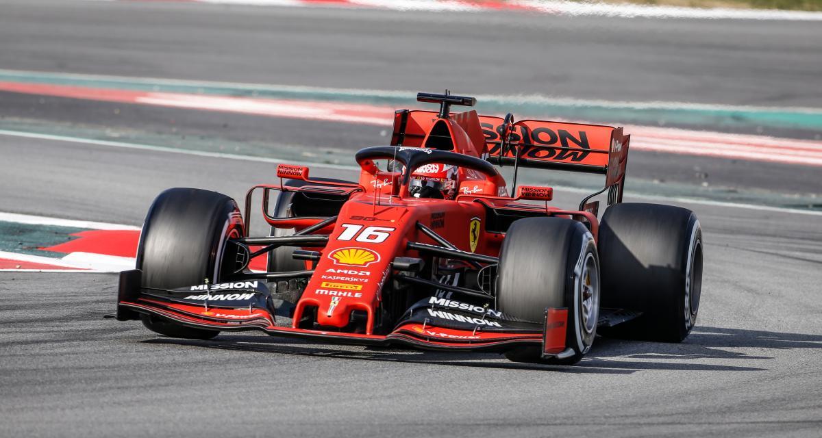 GP d'Autriche de F1 : Charles Leclerc en pole position avec Ferrari, la grille de départ