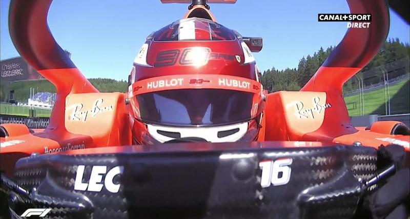 Grand Prix d'Autriche : la pole position de Charles Leclerc en vidéo