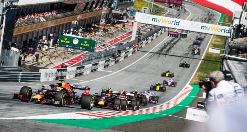 Grand Prix d'Autriche de F1 : le dépassement de Verstappen sur Leclerc en vidéo