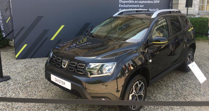 Dacia Duster Black Collector : nos photos de l'édition limitée à 500 exemplaires