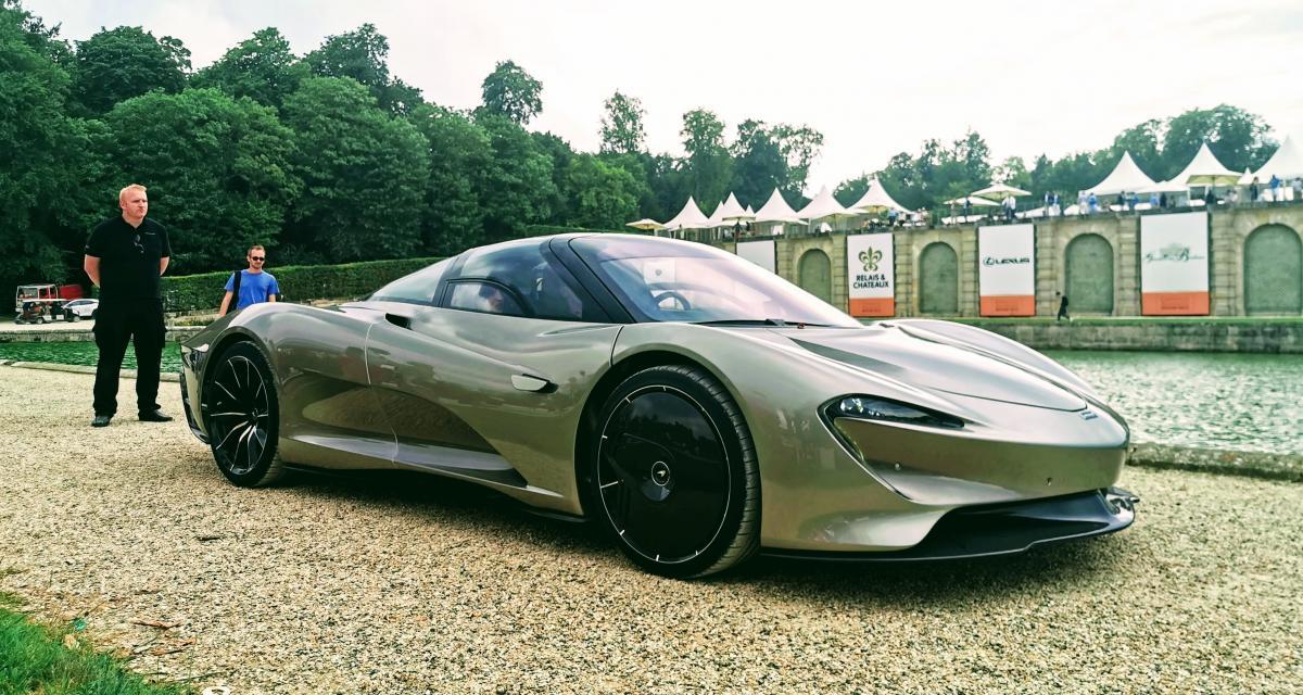 Concours d'élégance de Chantilly : nos photos de la McLaren Speedtail