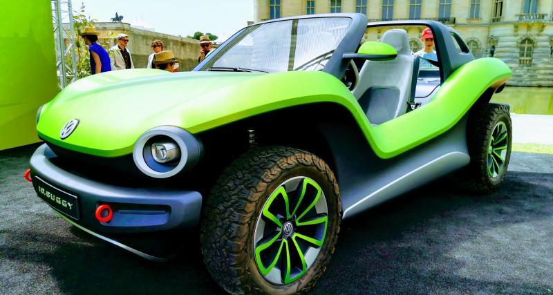 Concours d'élégance de Chantilly : nos photos du Volkswagen ID.Buggy