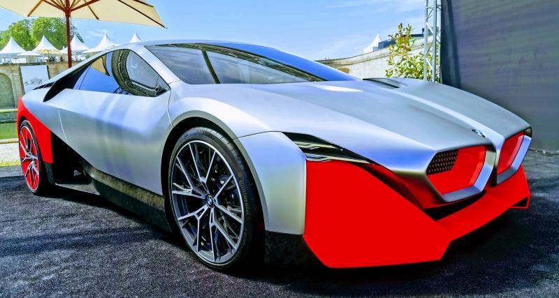Concours d'élégance de Chantilly : nos photos de la BMW Vision M Next