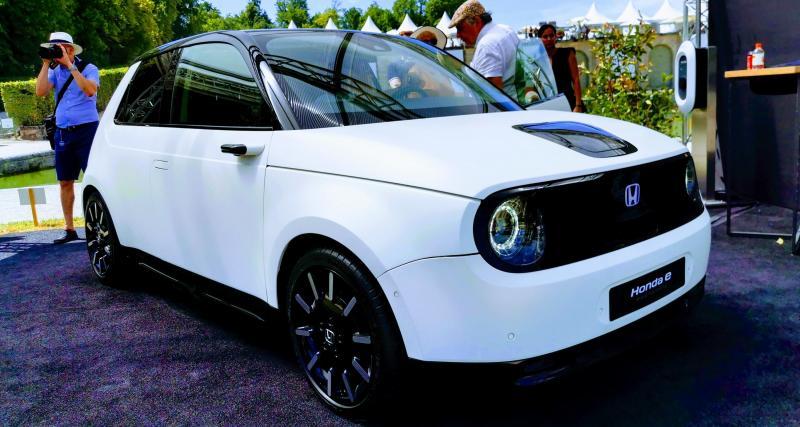 Concours d'élégance de Chantilly : nos photos de la Honda E