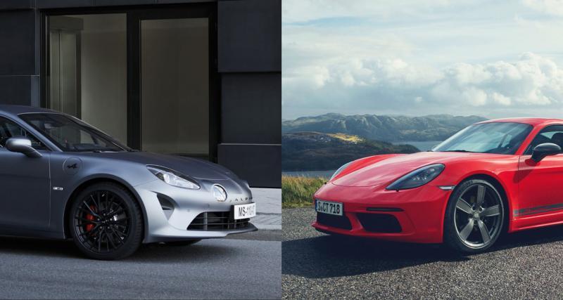 Comparatif Alpine A110 S vs Porsche 718 Cayman T : quand la France attaque l'Allemagne