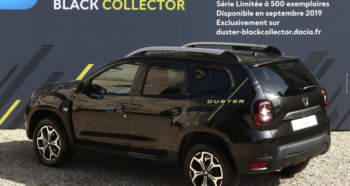 Dacia Duster Black Collector : les photos officielles de la série limitée