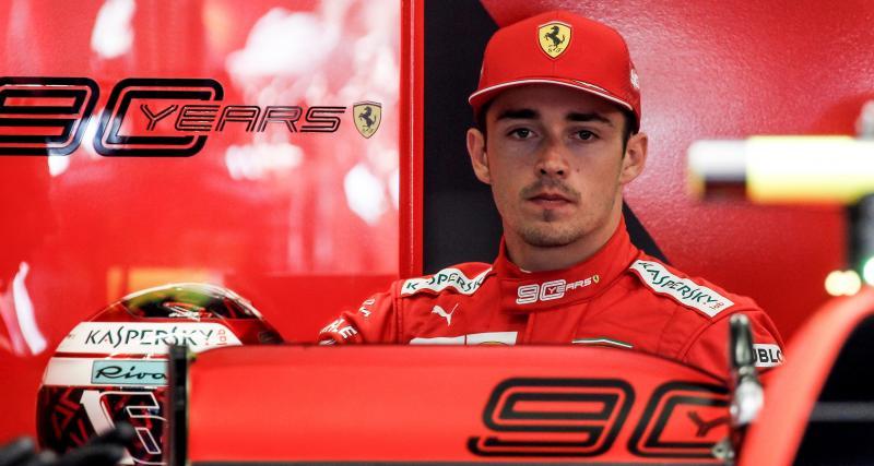 F1 : Charles Leclerc déçu mais beau joueur