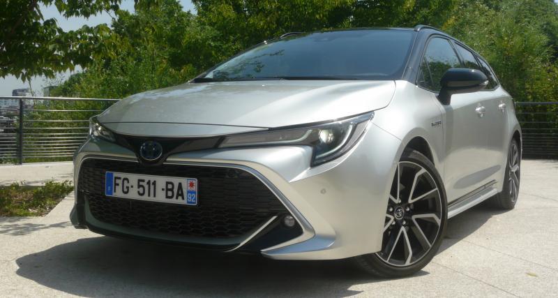 Essai de la Toyota Corolla Touring Sports 180 ch : l'hybride a du coffre