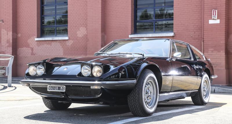 Maserati Indy : le premier modèle a 50 ans ! (photos)