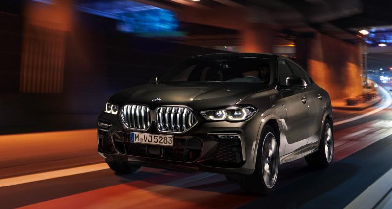 BMW X6 : toutes les photos de la troisième génération