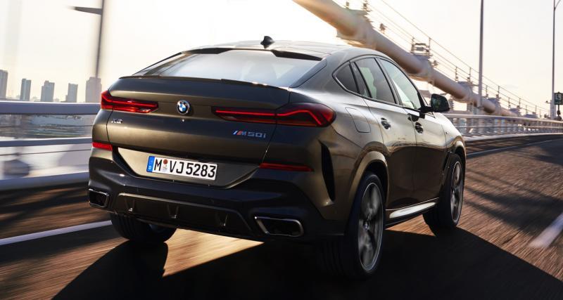Nouveau BMW X6 : il en met plein la vue !