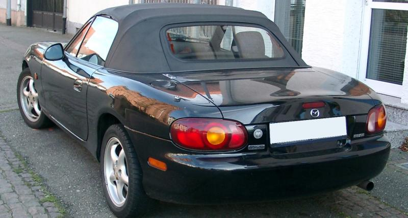 Mazda MX-5 NB : plaisir record