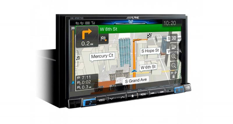 Alpine-Electronics USA commercialise un nouvel autoradio multimédia mechless