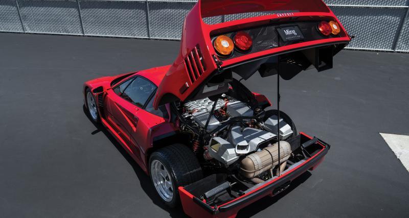 Ferrari F40 : les photos du modèle vendu aux enchères à Monterey en août