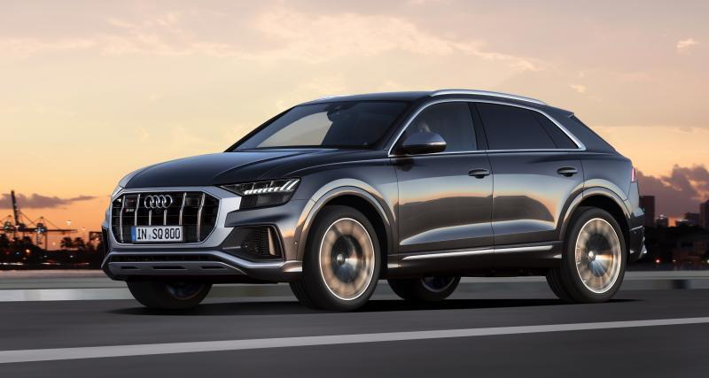 Nouvel Audi SQ8 : le SUV coupé passe à la salle de sport