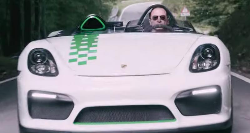 Porsche 909 Bergspyder et Boxster Bergspyder ensemble en vidéo