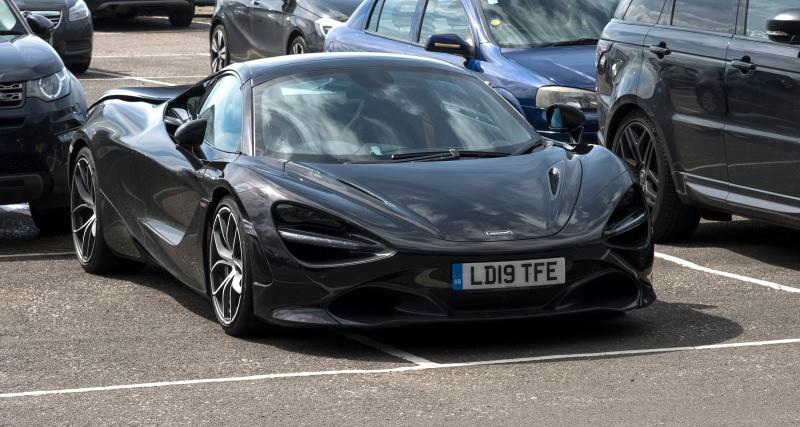 Flashé pour un excès de vitesse au volant d'une McLaren qu'il venait juste d'acheter