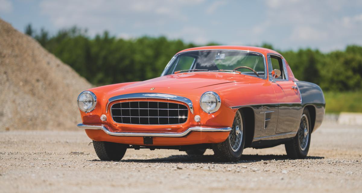Vente aux enchères de Monterey : les photos de la Ferrari 375 MM Coupe Special by Ghia