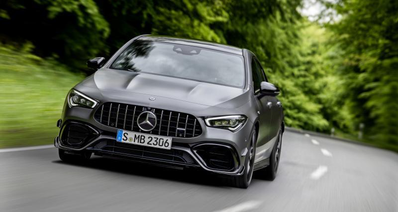 Mercedes-AMG Classe A 45 S et CLA 45 S : les photos officielles des 2 bombinettes
