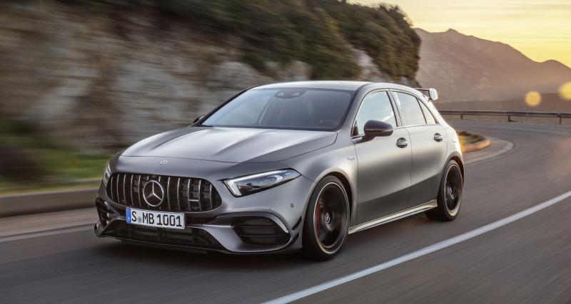 Mercedes-AMG Classe A 45 S et CLA 45 S : les compactes AMG plus sport que sport