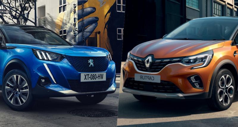 Peugeot 2008 vs Renault Captur : qualités de taille