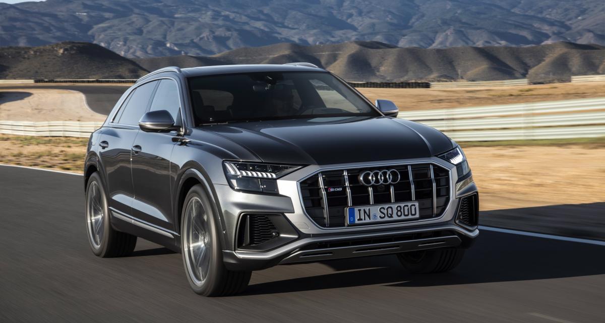 Audi SQ8 : le SUV Coupé en 3 points