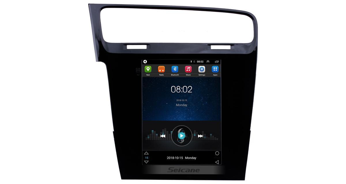 Seicane dévoile une tablette multimédia Android façon Tesla pour la Golf 7