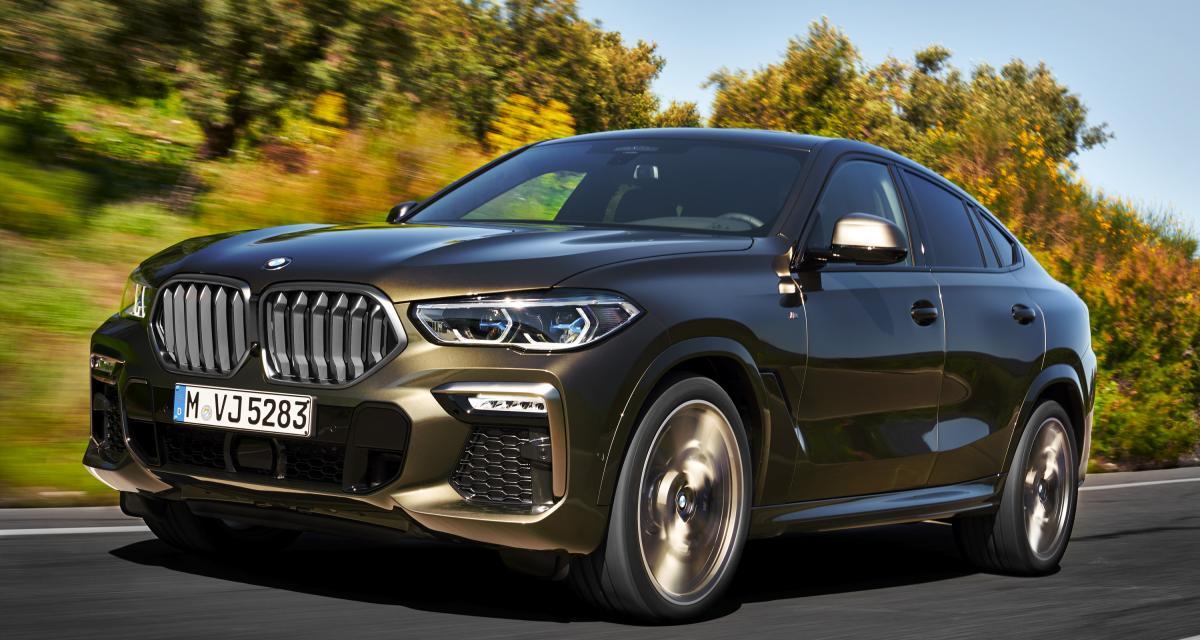 BMW X6 : la troisième génération en trois points
