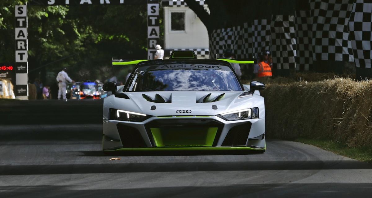 Audi R8 LMS GT : les photos officielles du bolide