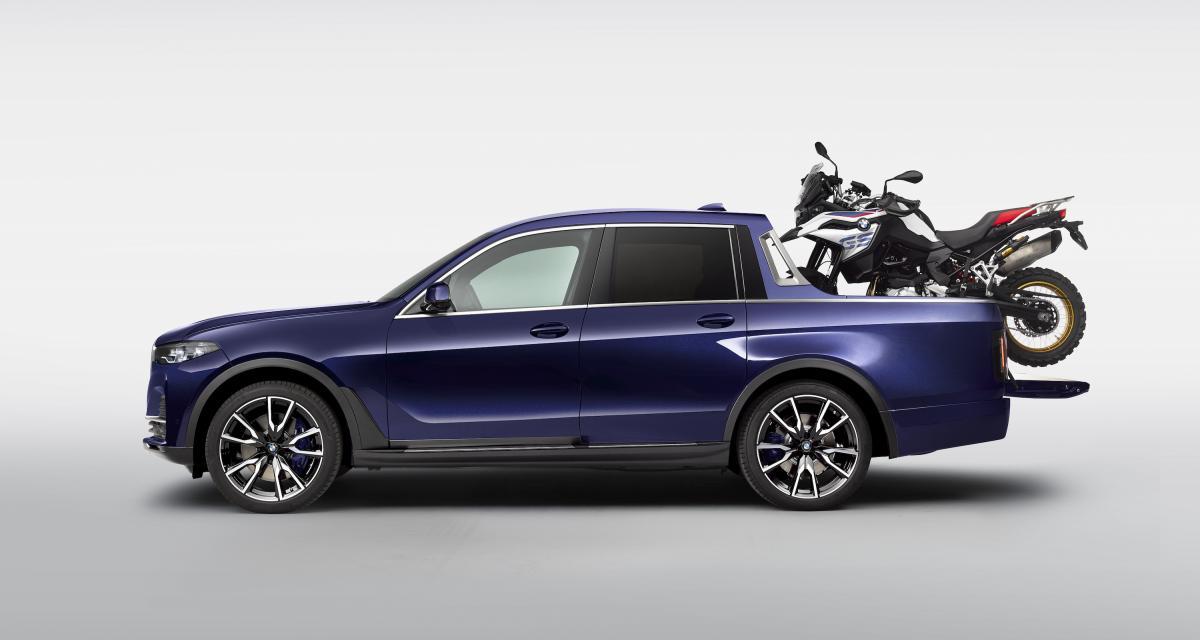 BMW X7 pick-up et F 850 GS : le couple de l'année
