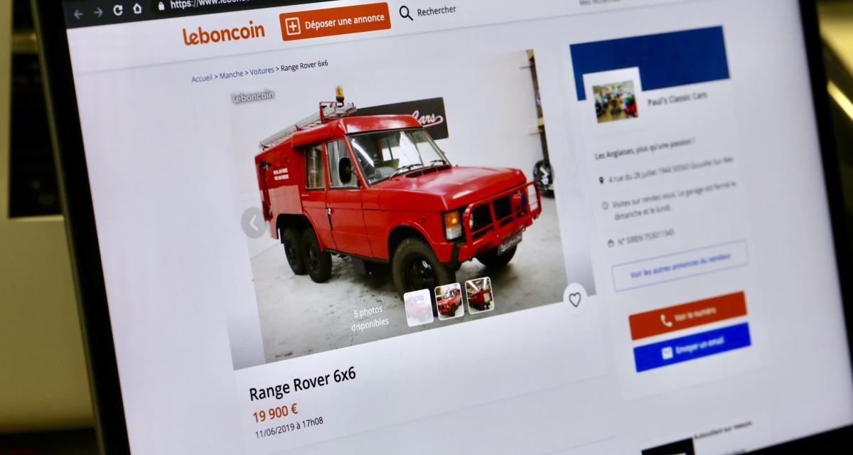Deux Range Rover à 6 roues en vente sur Leboncoin