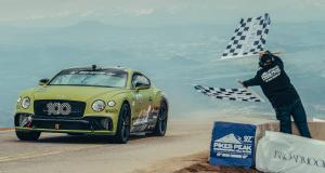 Pikes Peak 2019 : le record de la Bentley Continental GT en vidéo onboard