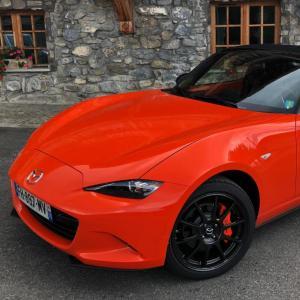 Mazda MX-5 30ème anniversaire : nos photos de l'essai en Haute-Savoie