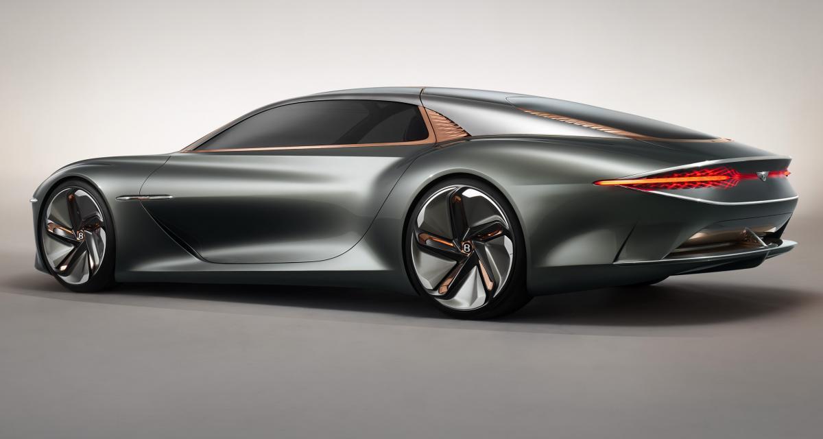 """Bentley EXP 100 GT : le """"B"""" ailé s'envole vers le futur"""