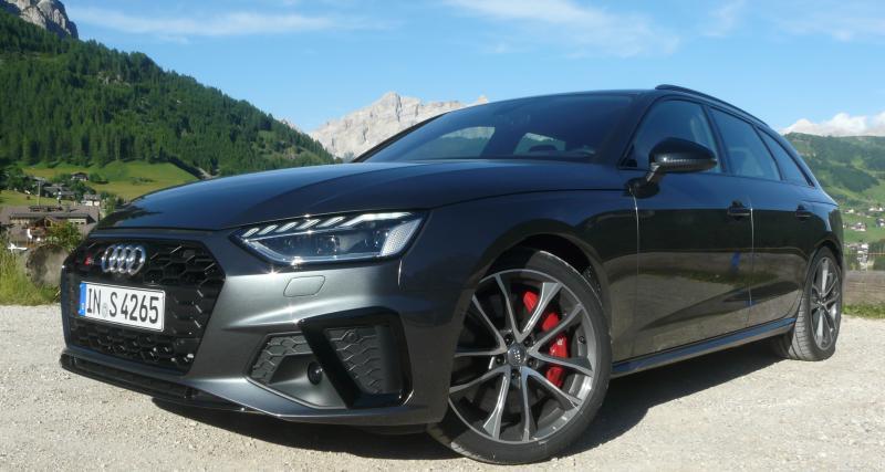Audi A4 restylée : toutes les photos de notre essai de la variante S4 Avant